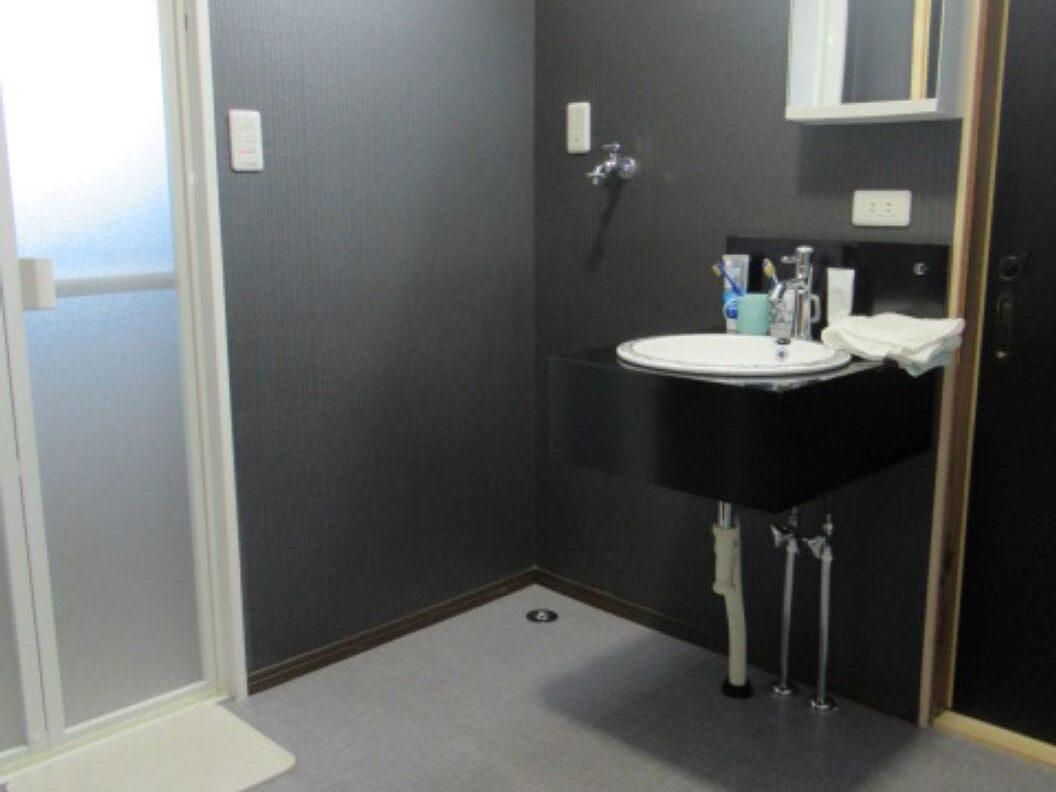 洗面所のリフォームの改修後画像