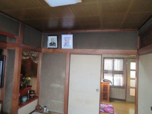 和室リフォームの改修前画像